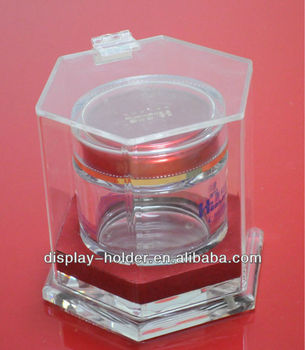 Clear small acrylic gift box crystal display box with cover