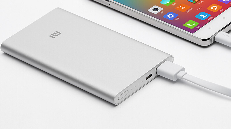 original xiaomi power bank 5000mAh li-ion polymer power bank 5000 usb output for phones pad