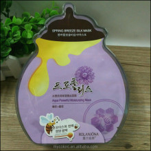 A1136 silk facial mask 7pcs/box propolis+herbal essence moisturizing whitening face mask skin lightening sheet mask