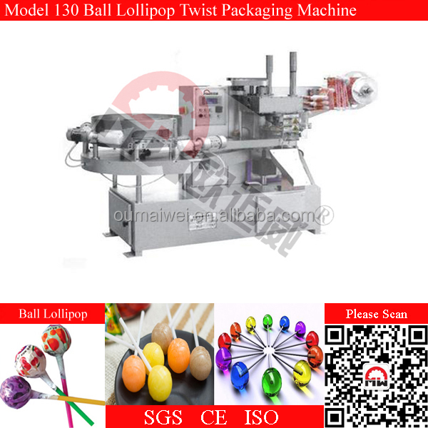 Fully Automatic Feeding Ball Shape Lollipop Packing Machine