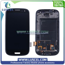LC High Quality LCd for Samsung Galaxy S3/i9300 LCD display touch screen complete