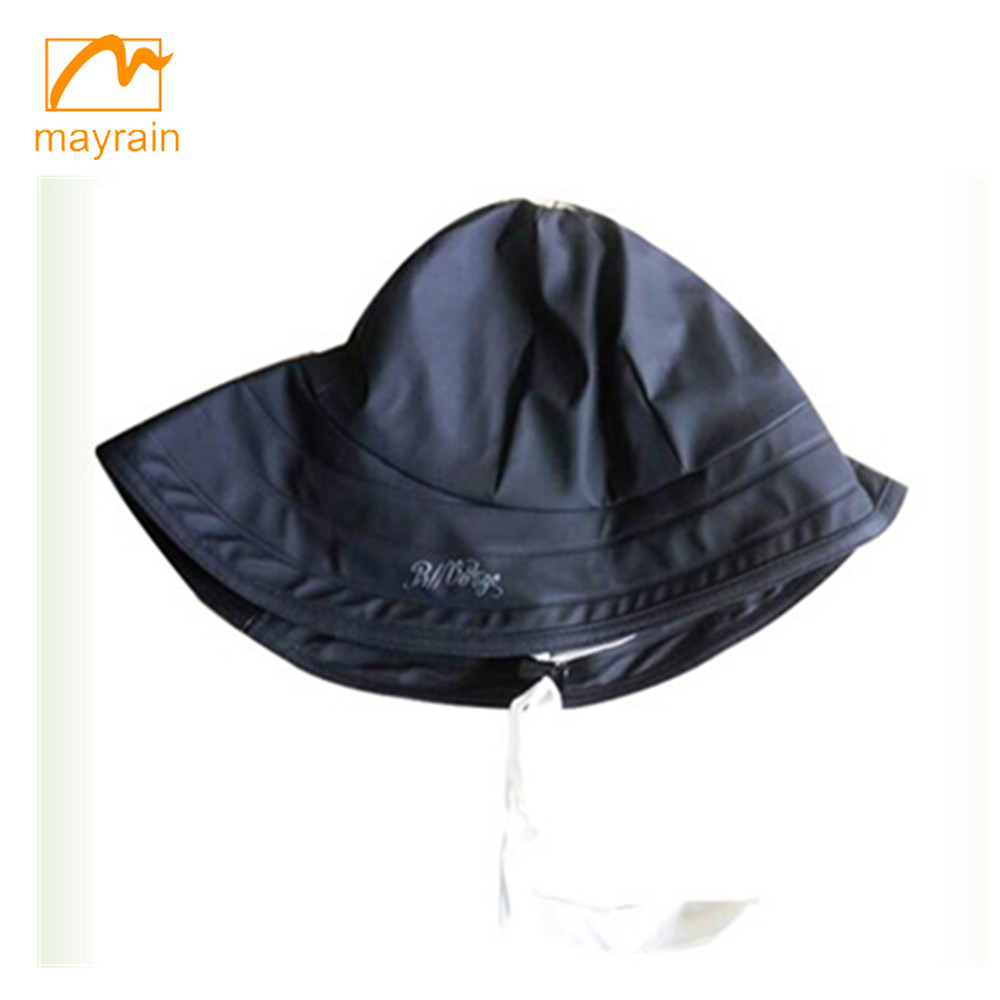 adult / children waterproof soft rain hat