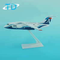 AN-148 (19cm) 1:150 airplane model plastic toy