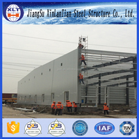 Steel structure building materials manufacturer warehouse construction costs