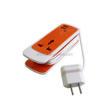 New Premium Portable Power Socket 3 in 1 Charger for mobile phone