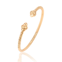 51510 beautiful woman jewelry 18k gold Tobago bangles