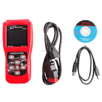 Free Shipping CS602 Code reader CS602 color reading cards Codescan OBD2 EOBD Scanner