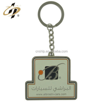 China factory promotion printed casting custom metal keychains
