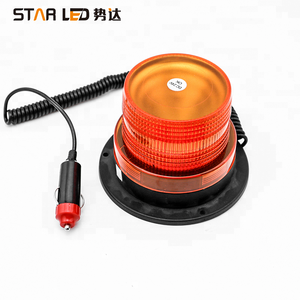 12v warning emergency light forklift safety light amber led magnetic beacon light
