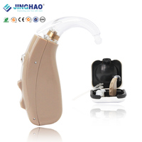 Personal Ear Sound Amplifier Adjustable Frequency Alibaba USB Rechargeable BTE Hearing Aids