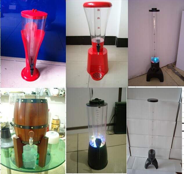 Plastic Drink Dispensers,Beer dispensers,Beer Tower