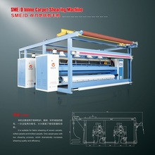 Shengwei 30% Energy Saving Textile Warp Knitting Fabric Shearing Machine