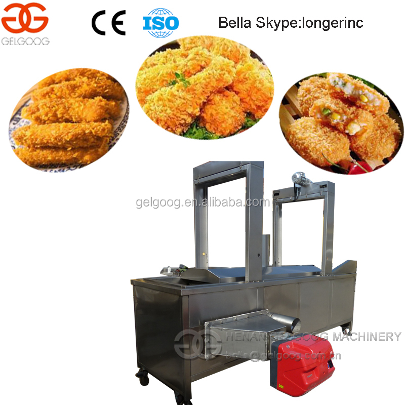Industrial Multipurpose Continuous Deep Fryer