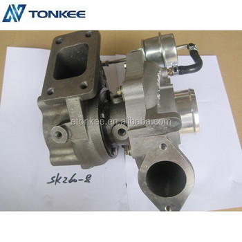 241004631A SK260-8 genuine turbo professional turbo charger J05E 24100-4631A