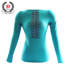 Latest cycling compression shirt for women