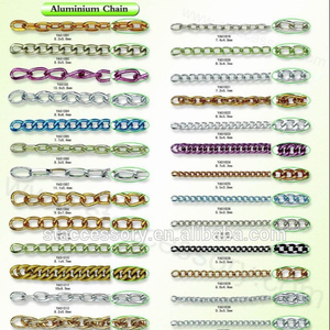 Wholesale anodized aluminum chain, aluminum chain link, cheap chain