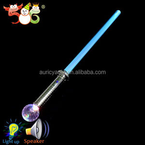 Newest high technology light up plastic sword toy