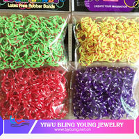 Fashion twistz bandz colorful loom jewelry manufacturer china BY041532