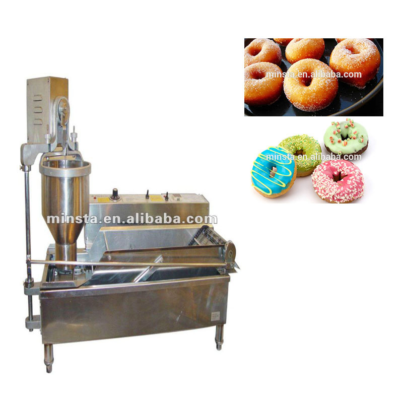 New type commercial automatic high efficiency donut maker/Manual Donut Maker/Professional Donut Making Machine for sale