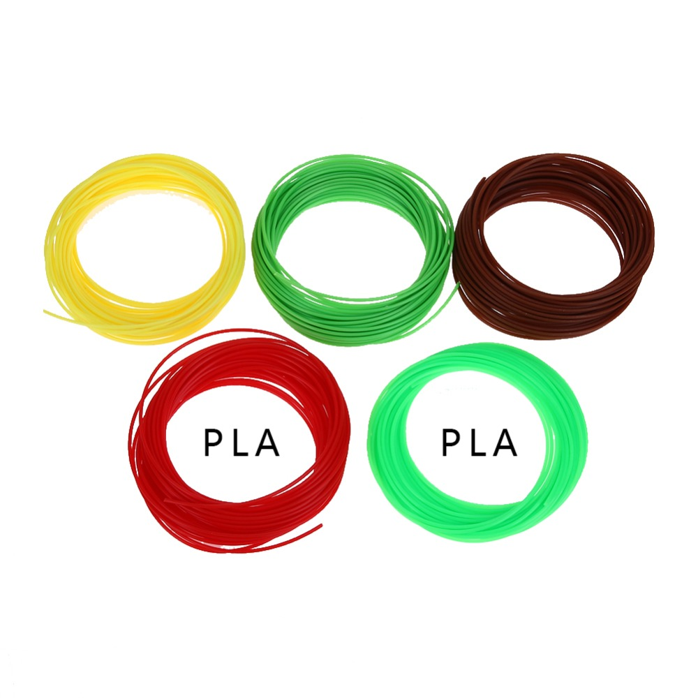 20 color/set 3D Printer Pen Filament <strong>ABS</strong>/PLA 1.75mm Plastic Rubber Consumables Material 3d pen filament Wholesale Price