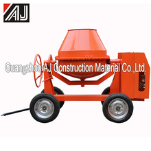 Hot Sale!!Gasoline/Electric Motor/Diesel Small Portable Concrete Mixer with Charging Capacity260L,300L,350L,400L,500L