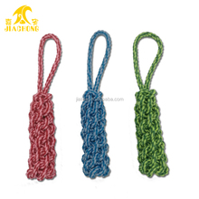 Cheap wholesale Fashion Pet Puppy Rope Dog Cotton Chew Toy Ball Play Clean Teeth