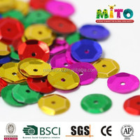 Round Cup Shaped Printed Sequin For
