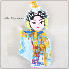 Souvenir custom soft pvc 3d rubber fridge magnet