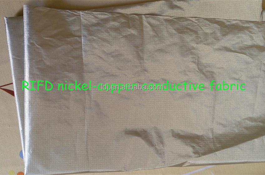 RFID Blocking fabric nickel-copper ripstop conductive fabric <strong>00</strong>