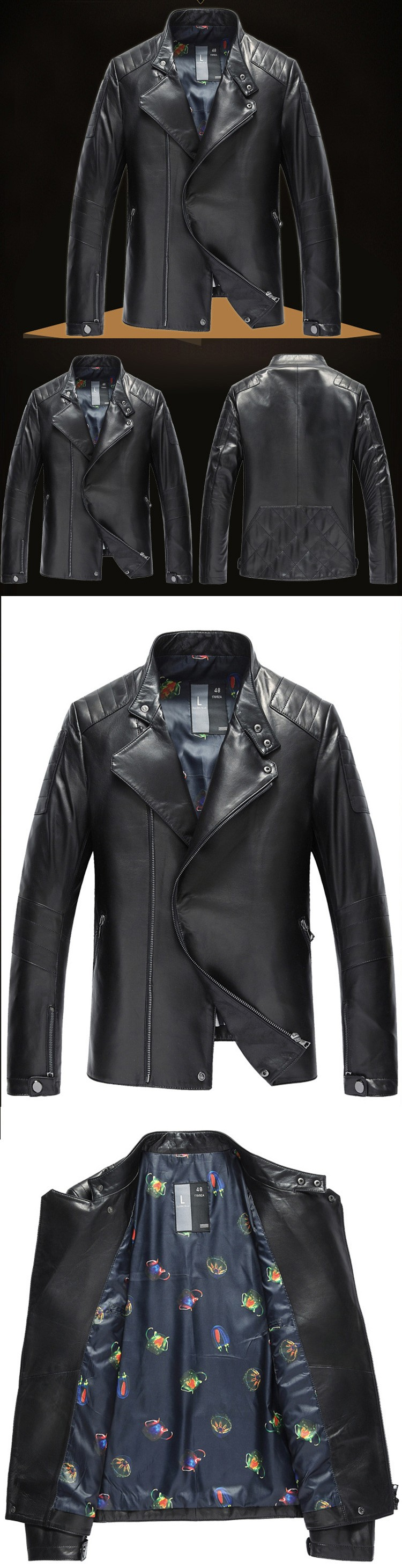 YEEL online shopping for wholesale clothing motorcycle pu leather jacket wholesale