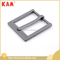Metal belt fashion square shape briefcase buckle