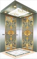 CE ISO approved 450kg-1600kg JFUJI VVVF Home and shopping center passenger elevator lift