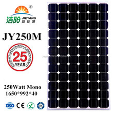 high efficiency pv solar panel 250 Watt 30V for solar pv system home system