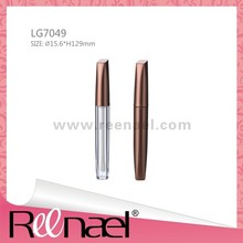 Plastic lip gloss container packaging plastic bottle plastic cosmetic container