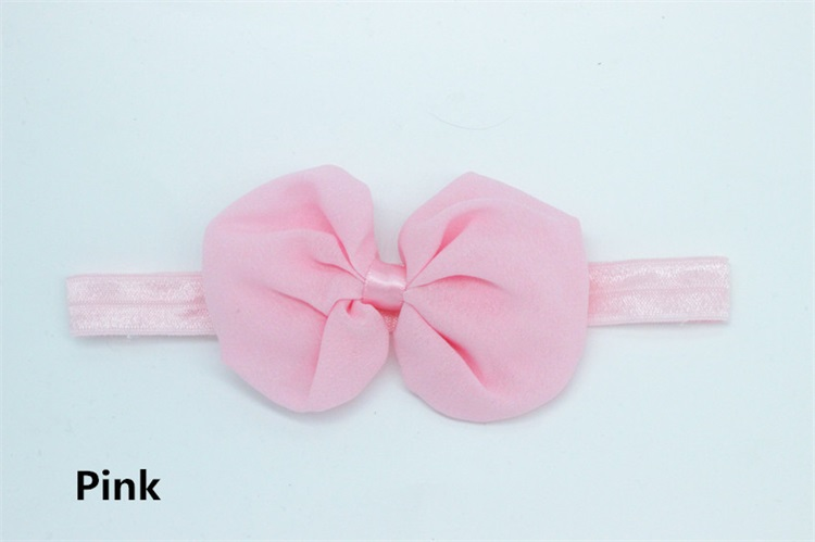 Multicolor Cute Fashion Chiffon Bowknot Children Hair Accessory Baby Headband