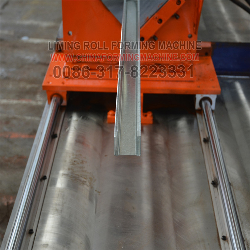 High-class ladder cable tray making production machine