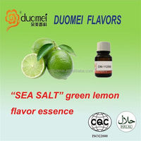 "New arrival liquid flavouring ""Sea salt"" green lemon flavor for food"