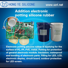 2 part component LED potting silicone rubber