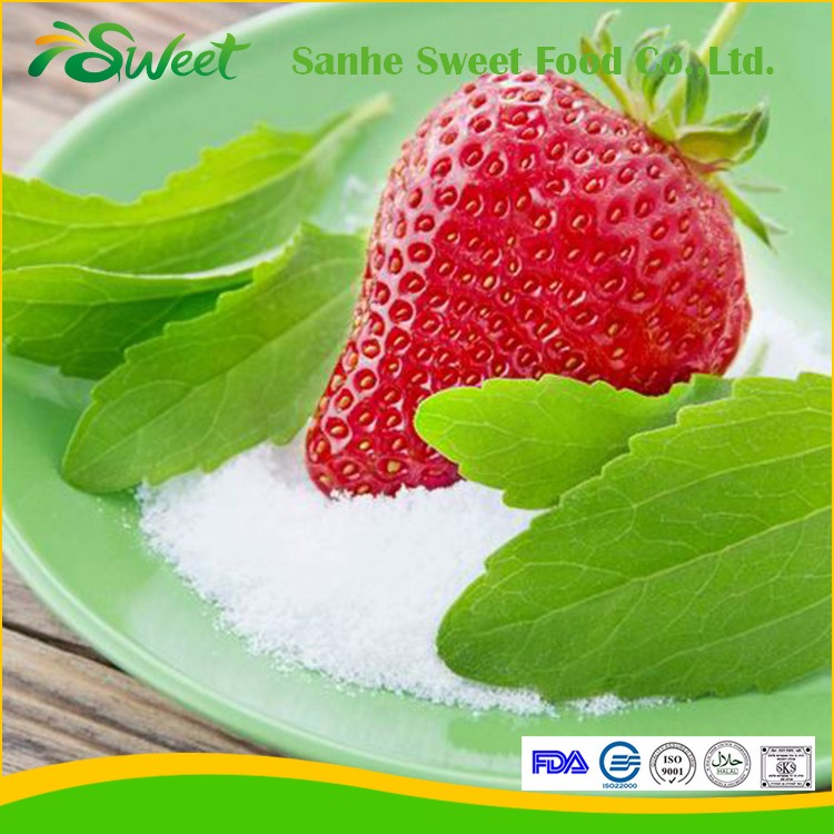 Natural FDA/ISO Certificate Stevia Extract Powder Steviol Glycosides