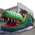 China company inflatable obstacle course for sale dragon shape