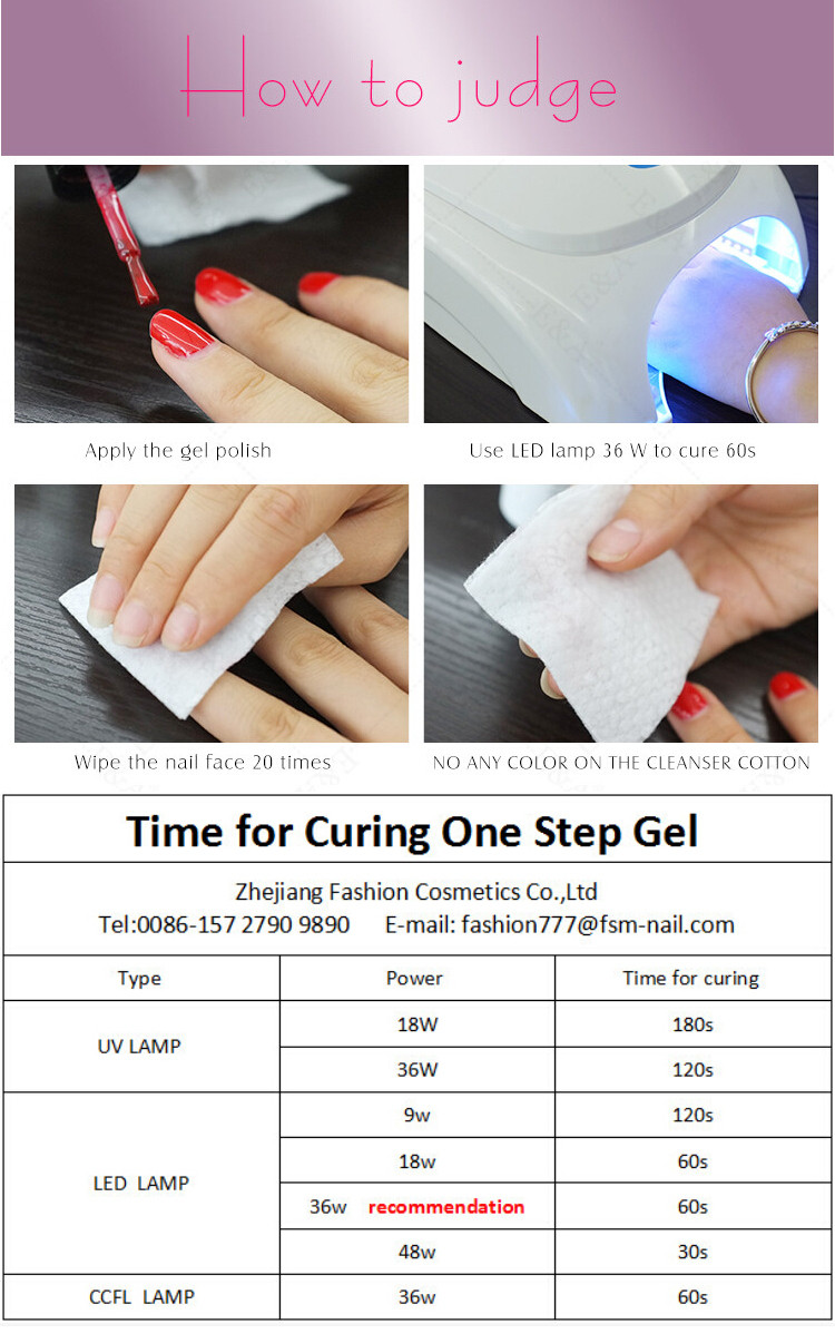 EA fengshangmei 15 ml free sample uv color gel nail polish