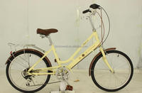 "22""city bike/bicycle with 6-speed SWCB005"