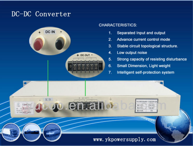 dc/dc power converter 220v 24v 20A