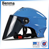2016 new products fashional ventilated adults universal abs summer helmet with anti-glare lens for scooter/motorcycle riding