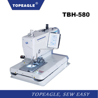 TOPEAGLE TBH-580-112 electronic eyelet shirt button hole sewing machine