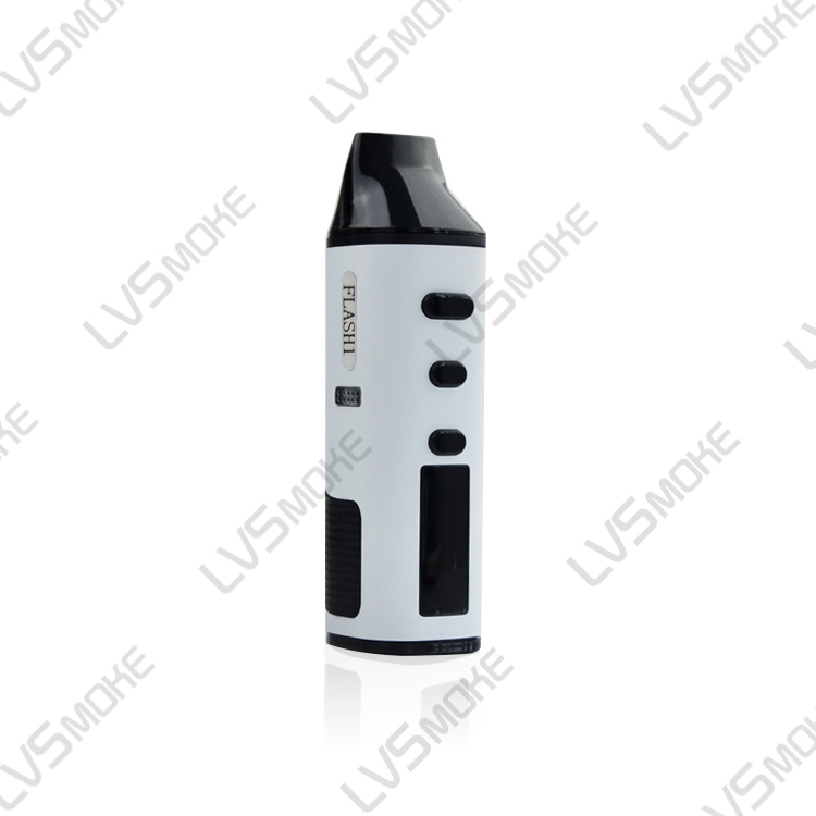 Alibaba express 1600mah Lvsmoke Flash Dry Herb vaporizer Pen from Kompota