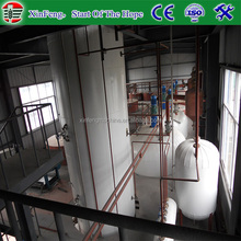 High efficiency crude and refined rice bran oil machine