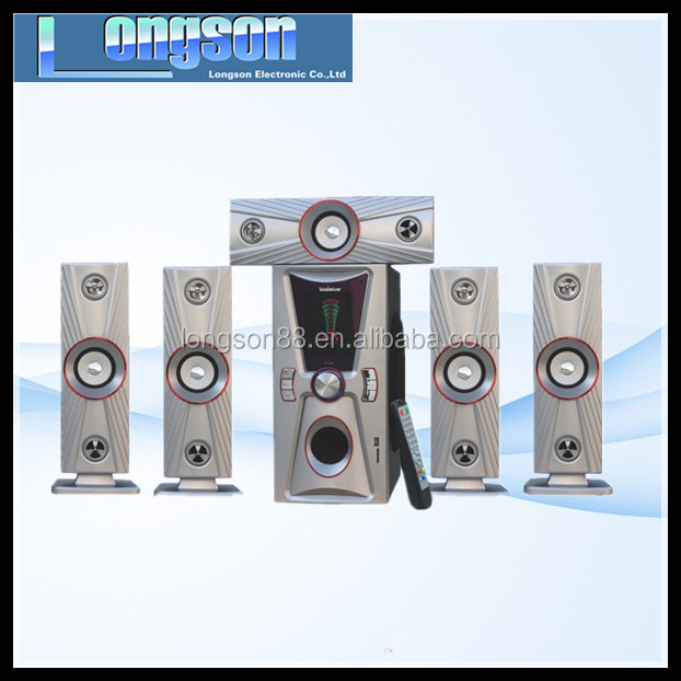 bluetooth speaker 5.1 home theater with remote/USB/SD/FM