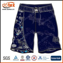 2015 wicking dry rapidly mens sublimation paper print MMA shorts