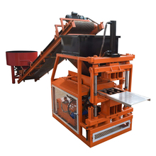 ZX 2-10 red soil interlocking brick making machine in india